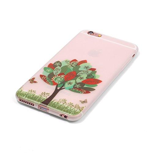 iPhone 6 Plus Funda, Carcasa iPhone 6S Plus Case Cover ,Luminoso TPU Protección colorida Terremoto / prevención de colisiones, patrones de personalidad creativa delgada avanzada,para iPhone 6 Plus/6S  image-7