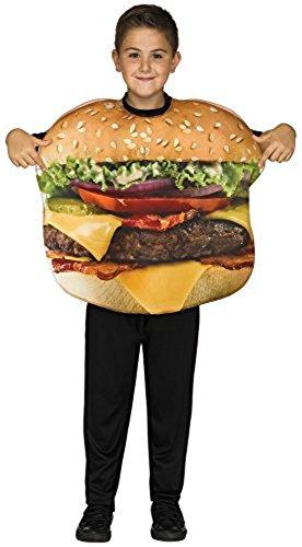 Cheeseburger Child Costume Food Costumes (8-14 (Cheeseburger Child Costumes)