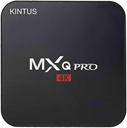 MXQ Pro2 Android 6.0 TV Box, KINTUS MXQ Pro Am Logic S905X Quad-core 64-Bit UHD 4K H.264 Media Center Smart OTT TV Box