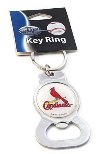 - Siskiyou MLB St. Louis Cardinals Bottle Opener Key Chain, Metal, Large