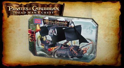 Disney Pirates of the Caribbean Dead Man's Chest 5 set in 1, Black Pearl, Bayou Discovery, Port Royal, Jack Sparrow & Water Wheel Duel