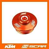 TAPON LLENADO ACEITE KTM SX SXF SX-F EXC EXCF SMR 50 65 85 125 250 350 450 NARANJA
