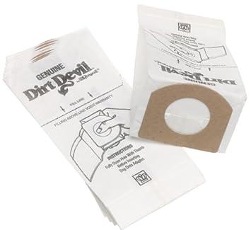 Amazon.com: Dirt Devil bolsas para aspiradoras tipo G ...