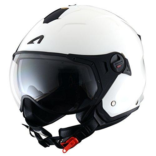 Amazon.es: Astone Helmets MINISPORT-MARXL Minijet Sport - Casco de motocicleta, Verde Mate, XL