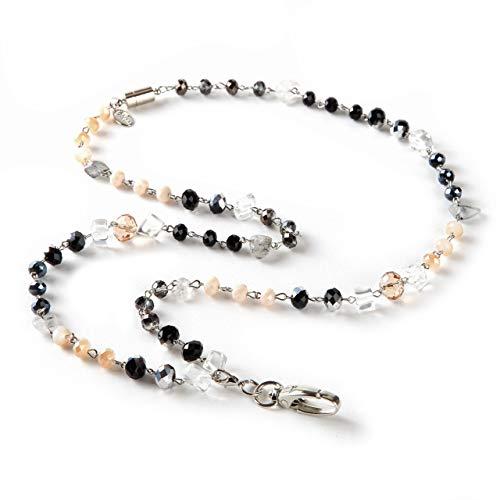 (BooJee Beads Beaded ID Convertible Lanyard Dawn)