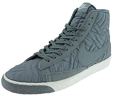Amazon.com | Nike Womens Blazer Mid PRM SE Hi Top Trainers