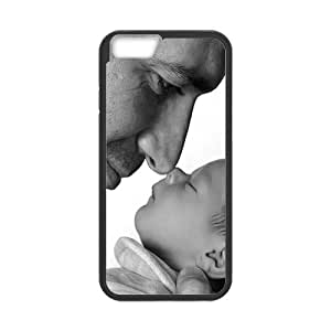 iPhone 6 Case, [Family Baby] iPhone 6 (4.7) Case Custom Durable Case Cover for iPhone6 TPU case(Laser Technology)