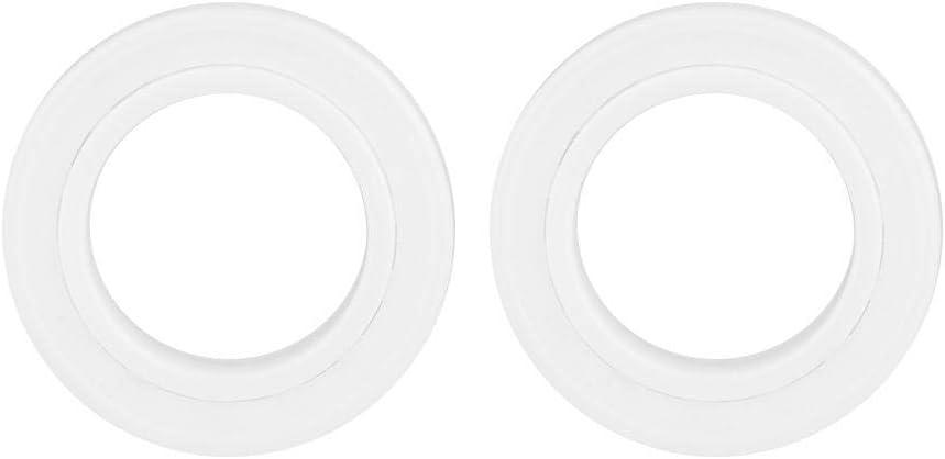 Akozon Les Roulements de C/éRamique Miniature 6802-2RS Roulement /à Billes Zircone Blanche 6802-2RS 15x24x5mm 1pc