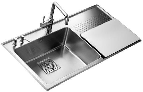 Amazon.com: Teka 40180511 1B 1D Plus - Fregadero de cocina ...