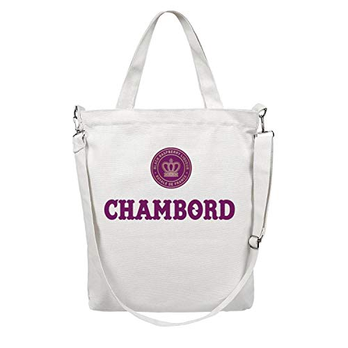 5f32209dc550 Large Women Canvas Shopping Tote Bag for School Beach Work Gym Book Lunch  Chambord-Liqueur- Casual Reusable Grocery Shoulder Handbag