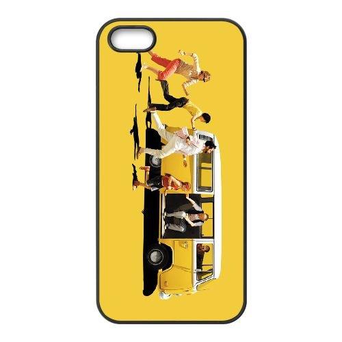 Little Miss Sunshine 001 coque iPhone 5 5S cellulaire cas coque de téléphone cas téléphone cellulaire noir couvercle EOKXLLNCD25588