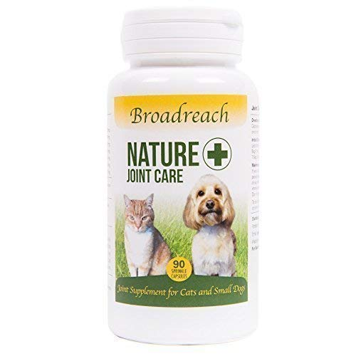 ADVANCED DOG JOINT SUPPLEMENT AWARD WINNING PRODUCT  All Natural Veterinary Extra Strength Formula with Glucosamine Chondroitin &Turmeric for Dogs and Cats up to 10kgs Manufactured in the UK