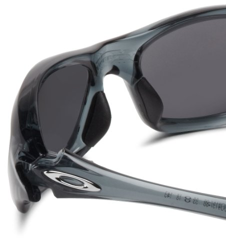 4ff54953061 Oakley Mens Twenty OO9157-06 Polarized Oval Sunglasses