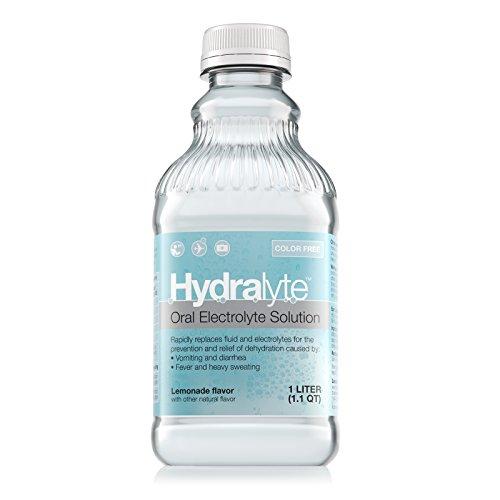 Hydralyte - Oral Electrolyte Solution, Ready to Drink Clinical Hydration Formula (Lemonade, 33.8 fl oz)
