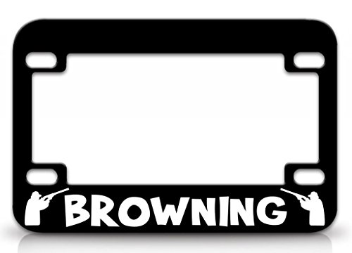 custom license plate browning - 9