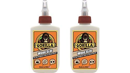Gorilla 6202001-2 Wood Glue (2 Pack), 4 (Wood Glue 1 Gallon Bottle)