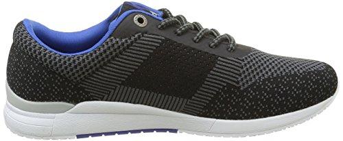 Basse Kickers Noir Knitwear Gris Noir Sneaker Uomo 7zqgwxHz