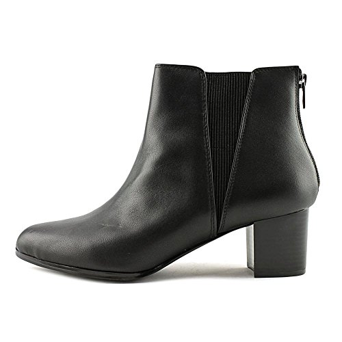 Ankle Boots Black Leather Toe Womens Almond Vitaa Alfani Chelsea 1wZqTXfnx