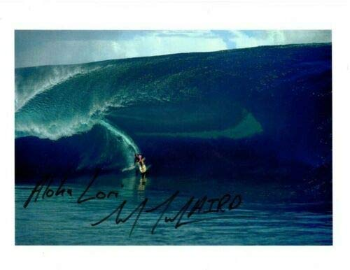 - LAIRD HAMILTON Autographed Signed SURFING SURFER Photograph - To Lori