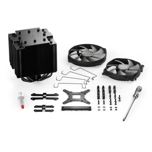 be quiet! BK022 Dark Rock Pro 4 CPU Air Cooler 250W TDP 6-Pole Fan Motor 6 Heat Pipes Silent Wings135mm PWM Fan by be quiet! (Image #4)