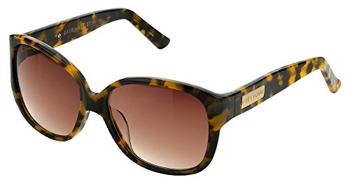 Laura Ashley Ladies Updated Retro Round Sunglasses, Tokyo Tortoise, 56mm, - Cartier Discount Glasses
