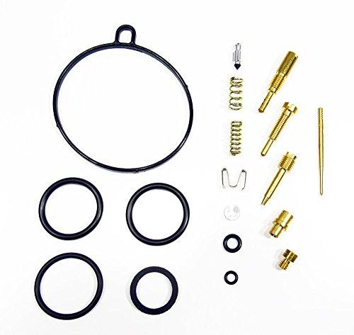 Outlaw Racing OR2544 Carburetor Complete Master Repair Rebuild Kit - Fits Honda CRF70 CRF70F XR70 XR70R (Honda Jet Kit)