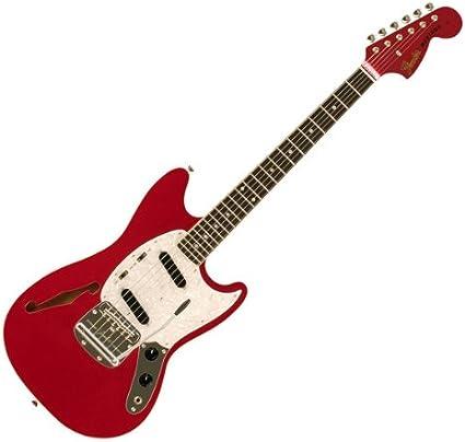 Fender Japón MG/Ho coche Candy Apple rojo Mustang guitarra ...