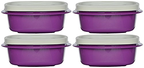 Cutting Edge Snap Tight, 335ml, Set Of 4, Purple Passion