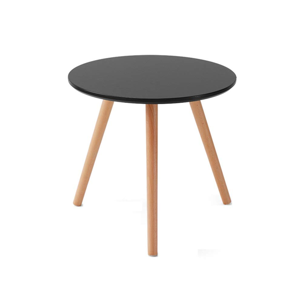 LJHA bianzhuo End Table, Wooden Round Table Small Coffee Tableseveral Corners Several Tables Sofa Several Suitable for Family, Living Room, Office, 5 Colors. Bedside Tables by GYH End Table