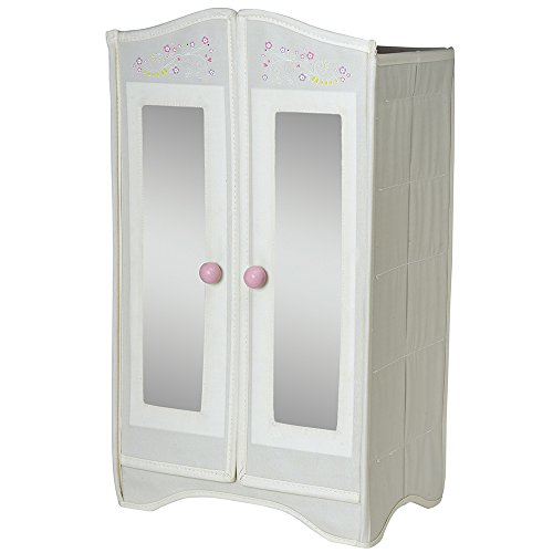 "Adora Amazing Girls 18"" Doll Accessory - Wardrobe Storage Cabinet Armoire (Amazon Exclusive)"
