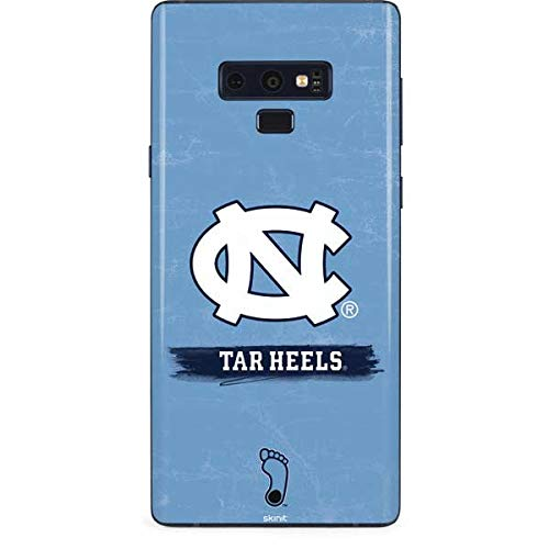 Skinit North Carolina Tar Heels Galaxy Note 9 Skin - Officially Licensed College Phone Decal - Ultra Thin, Lightweight Vinyl Decal Protection