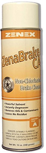 Zenex ZenaBrake CA Non-Cholorinated Advanced Brake Cleaner - 12 Cans (Case) by ZENEX International