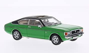 ford granada mki coupe green black 1972 model car ready made