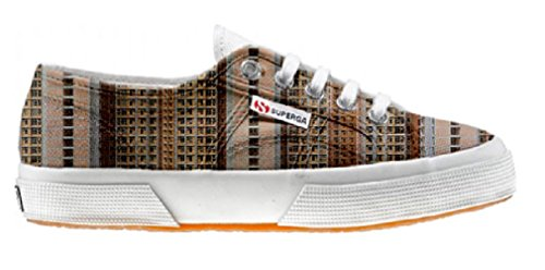 Superga Customized zapatos personalizados Architecture Of Density (Producto Artesano)