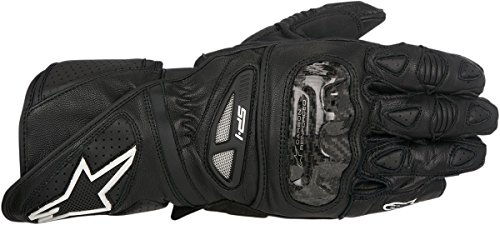 Price comparison product image Alpinestars Men's Men's SP-1 Black Leather Gloves 3320-0494