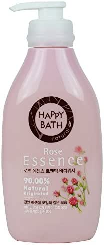 Happy Bath Rose Essence Body Cleanser 500g (1 Pack)