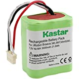Kastar BRAAVA380 Battery (1 Pack), Ni-MH 7.2V 3000mAh, iRobot Mint 5200 Vacuum Cleaner Replacement Battery for IRobot Braava 380, 380T, Mint5200, 5200B, 5200C Floor Mopping Robots