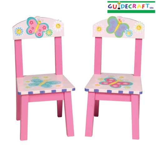 Butterfly Extra Kid's Chair (Set of 2)