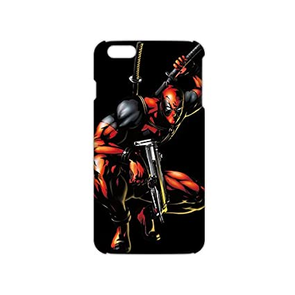 Deadpool Wallpaper Marvel 3D Phone Case For Iphone 6