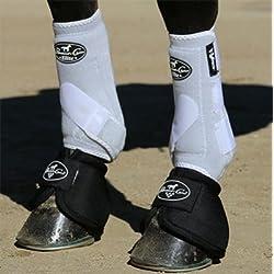 Professionals Choice Equine Sports Medicine Ventech Elite Front Leg Boot, Pair (Medium, Black)