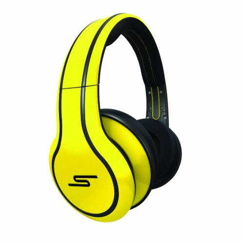 SMS Audio SMS-WD-YLW Street by 50 Cent Wired Over-Ear Headphones - Yellow (Sms Audio Street By 50 On Ear)