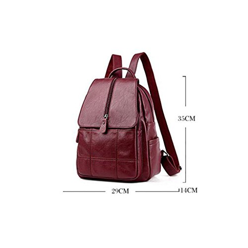 Ms High amp;F red bag capacity backpack package Leisure Shoulder cm 14 Y Travel 29 Bags 35 qSw51Bx