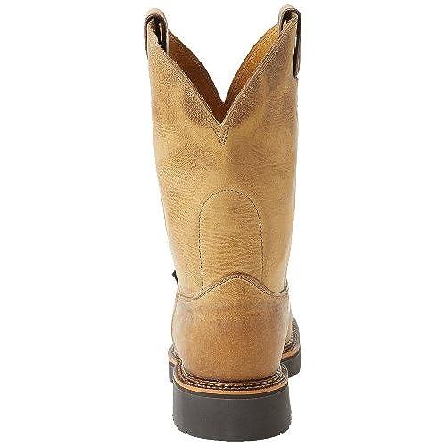 8e5d9c18d07 Justin Original Work Boots Men's J-max Steel Toe Pull-On Steel Toed ...
