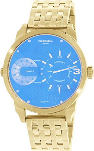 Diesel Men's DZ7341 Mini Daddy Analog Display Analog Quartz Gold Watch