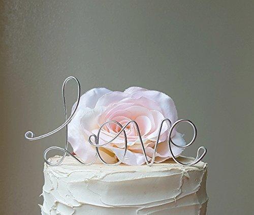 LOVE-Silver-Wedding-Cake-Wedding-Cake-Decoration-Anniversary-Decoration-Engagement-Party-Cake-Decoration-by-AntoArts