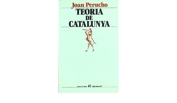 Teoria de Catalunya (Cara i creu): Amazon.es: Perucho, Joan: Libros