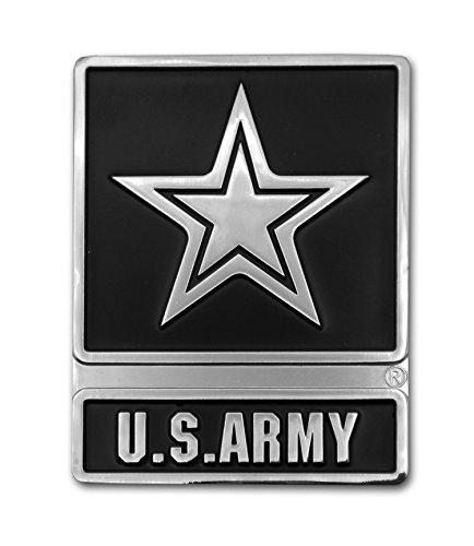 Elektroplate U.S. Army Star Chrome Auto Emblem
