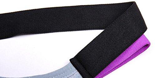 Black, L 1PCS Womens Sports Bra Yoga Fitness Stretch Seamless Padded Bra Soft Cotton Elastane Bra Comfort Bra