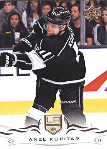 (2018-19 Upper Deck #87 Anze Kopitar Los Angeles Kings NHL Hockey Trading Card)