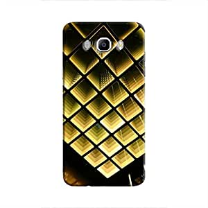 Cover It Up - Infinite Golden Squares Galaxy J5 2016 Hard Case